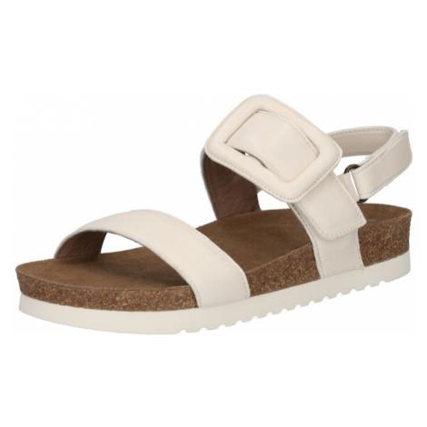 Ca Shott Remienkové sandále  biela