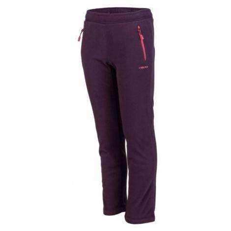 Head DARKO fialová - Detské flísové nohavice