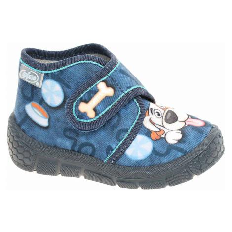 Chlapecké bačkory Befado 529P106 modrá 529P106