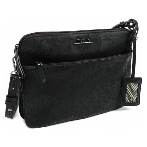 Dámska kabelka Doca 10718 - čierna