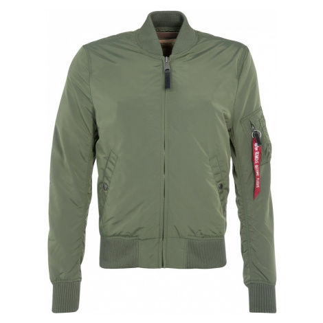 ALPHA INDUSTRIES Prechodná bunda 'MA-1 TT'  zelená