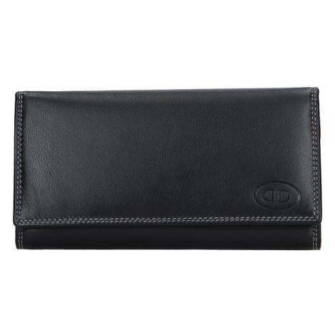 Dámska kožená peňaženka DD Anekta Eliška - čierna