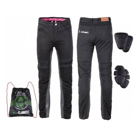 Dámske moto nohavice W-TEC Ragana Farba čierna