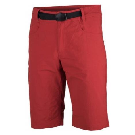 Northfinder GRIFFIN červená - Pánske šortky