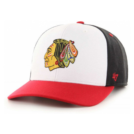 47 NHL CHICAGO BLACKHAWKS COLD ZONE '47 MVP DP BLK - Šiltovka