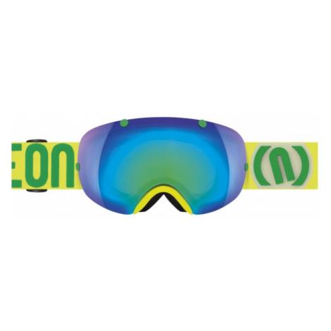 Neon BREAK žltá - Lyžiarske okuliare