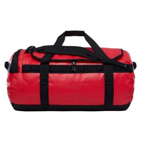The North Face BASE CAMP DUFFEL červená - Cestovná taška