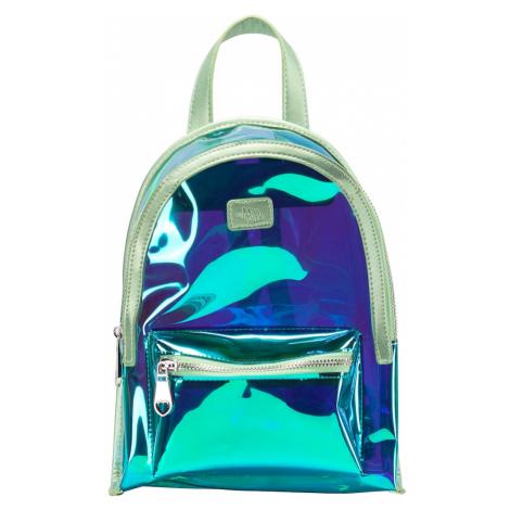 MYMO Batoh  pastelovo zelená / nefritová / kráľovská modrá