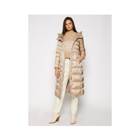 Geox Zimný kabát Tahina W0425G T2412 F5186 Béžová Regular Fit