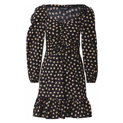Miss Selfridge Šaty  čierna / zmiešané farby