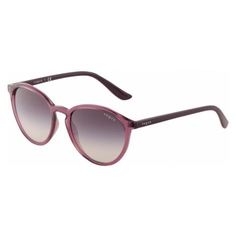 VOGUE Eyewear Slnečné okuliare '0VO5374S'  rosé / farba lesného ovocia