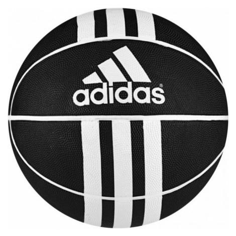 adidas 3S RUBBER X čierna - Basketbalová lopta