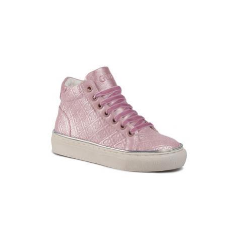 Guess Sneakersy Missy Hi FI8MIS FAL12 Ružová