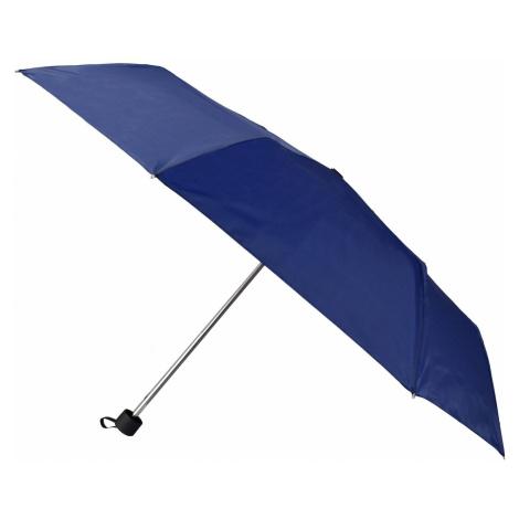 Semiline Unisex's Short Manual Umbrella 2510-1 Navy Blue