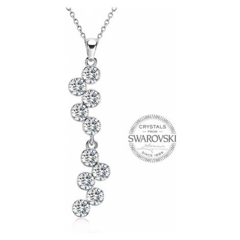 Levien Slušivý náhrdelník Chaton Crystal