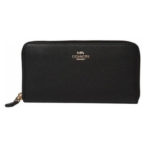 COACH Peňaženka  čierna