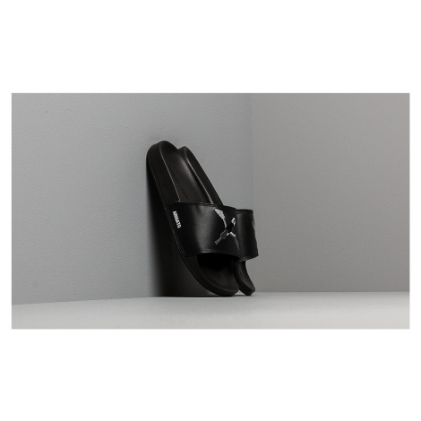 AXEL ARIGATO Tori Slides White Leather Black