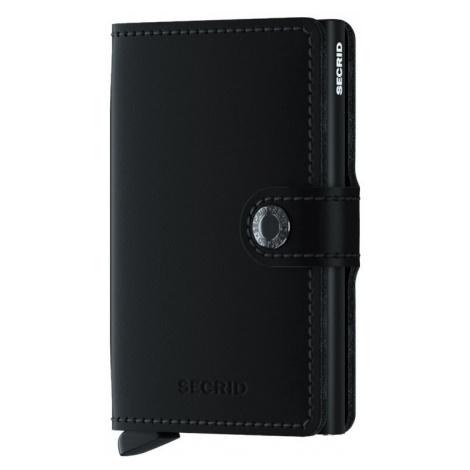 Secrid Miniwallet Matte Black-One size čierne MM-Black-One size