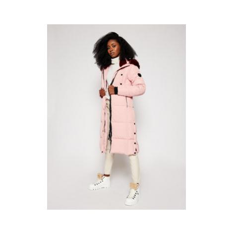 Desigual Zimný kabát Sveta 20WWEW38 Ružová Regular Fit