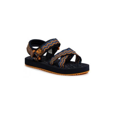 Jack Wolfskin Sandále Zulu K 4039891 S Tmavomodrá