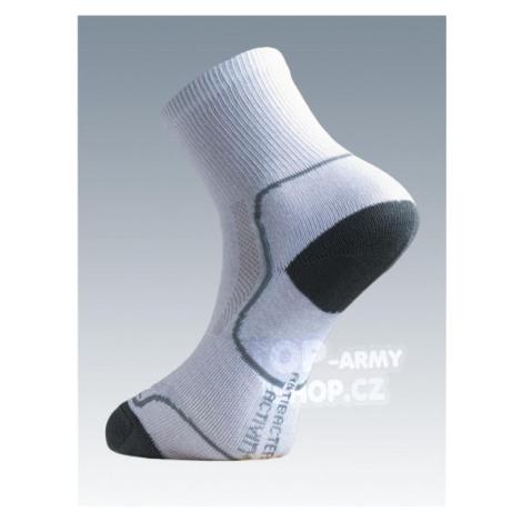 Ponožky so striebrom Batac Classic - white