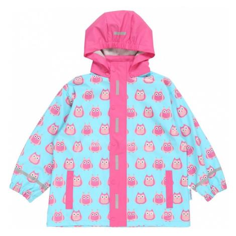 PLAYSHOES Kabát 'Eulen'  modrá / ružová