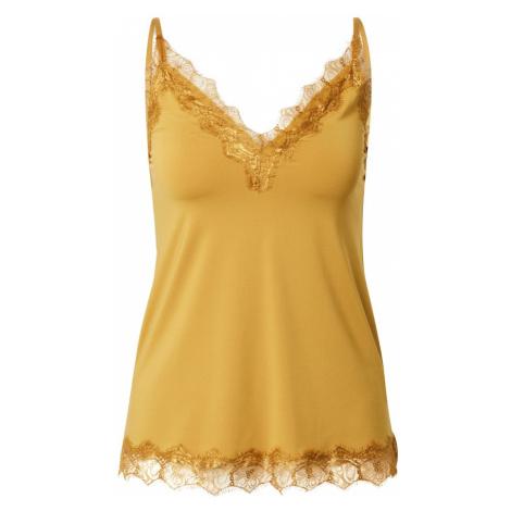 rosemunde Top  zlatá žltá