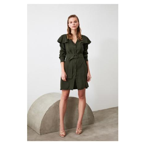 Trendyol Green Arch dress