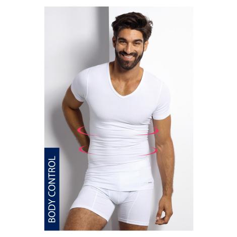 Sťahovacie tričko s véčkovým výstrihom Blackspade