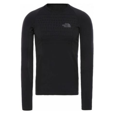 The North Face SPORT L/S CR N M čierna - Pánske tričko