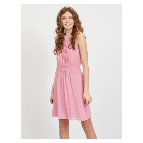Vila ružové spoločenské šaty
