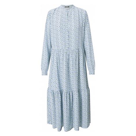 OPUS Košeľové šaty 'Werani'  svetlomodrá / námornícka modrá / trstinová / biela