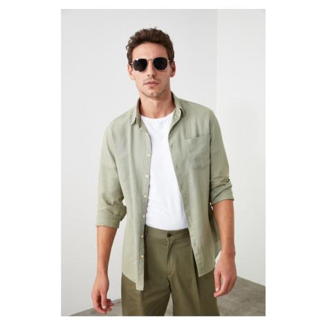 Trendyol Khaki Male Slim Fit Shirt