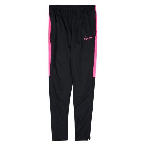 NIKE Športové nohavice 'Academy'  ružová / čierna