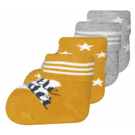 EWERS Ponožky  sivá / žltá