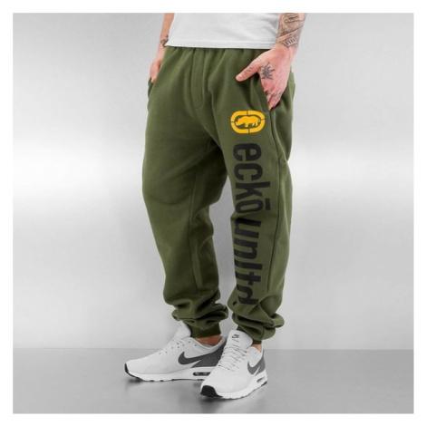 Ecko Unltd. 2Face Sweatpants Olive - Veľkosť:3XL