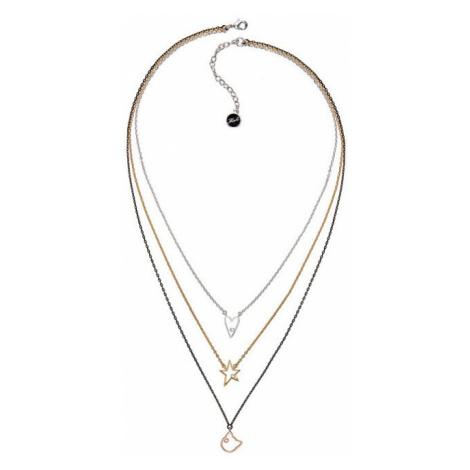 Karl Lagerfeld Trojitý náhrdelník