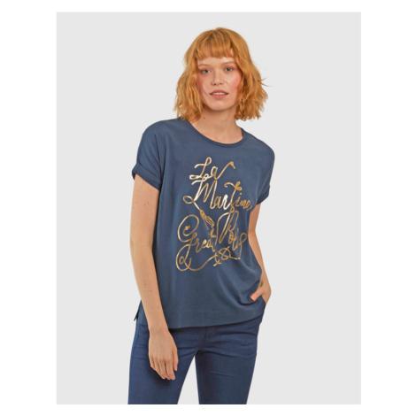 Tričko La Martina Woman Stretch Co Jersey Tshirt