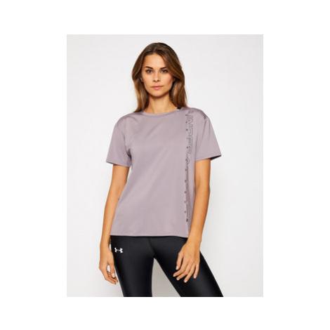 Under Armour Funkčné tričko Ua Armour Sport Graphic Short Sleeve 1356301 Fialová Loose Fit