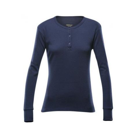 Dámske triko Devold Nature Woman Button Shirt 148-248 284