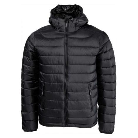 Willard LESS čierna - Pánska zateplená bunda
