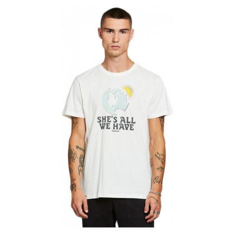 Dedicated T-shirt Stockholm All We Have Off-White XL biele 18278-XL