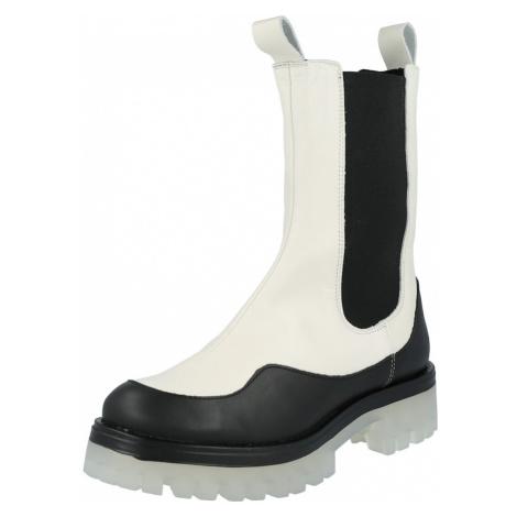 Ca Shott Nízke čižmy  biela / čierna