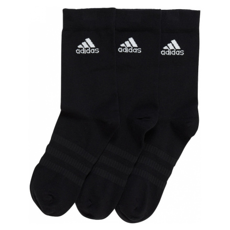 ADIDAS PERFORMANCE Športové ponožky 'Light Crew 3PP'  biela / čierna