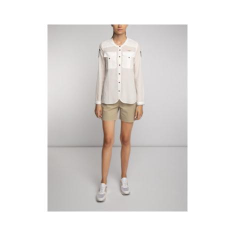 Aeronautica Militare Bavlnené šortky Shorts Pences 191BE074DCT2449 Béžová Regular Fit