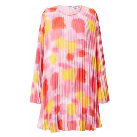 Essentiel Antwerp Šaty 'Zisse'  svetloružová / žltá / pitaya / koralová