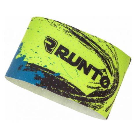 Runto WHIRL žltá - Športová čelenka