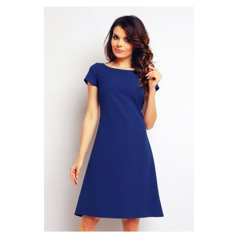 Modré šaty M086 Infinite You