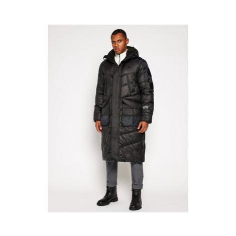 G-Star RAW Zimný kabát Utility Quilted Extra Long D17623-B958-6484 Čierna Regular Fit