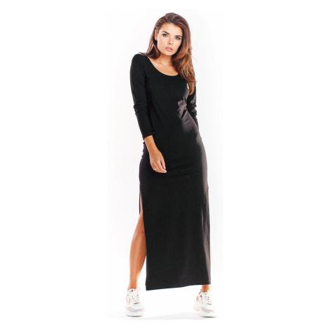 Čierne šaty M229 Infinite You